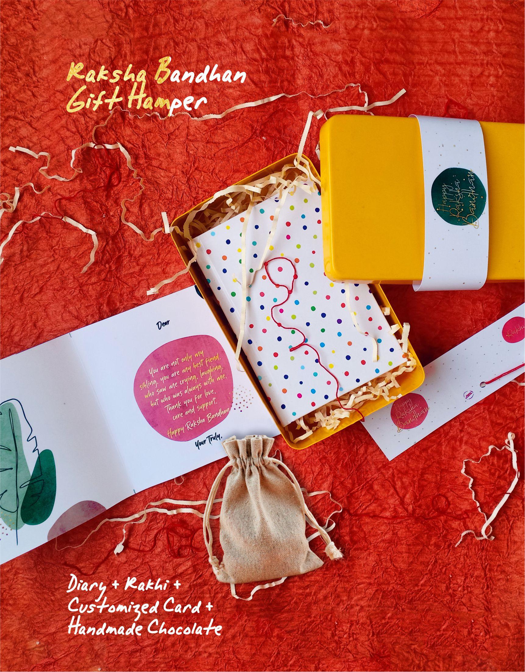 Raksha Bandhan Gift Hamper Happy Outcome
